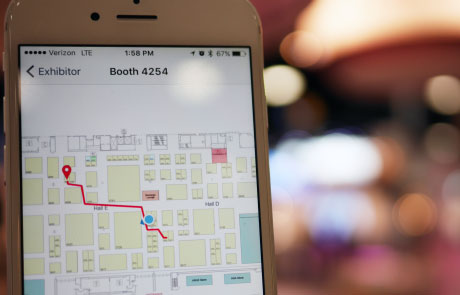 Indoor positioning and way finding with beacons