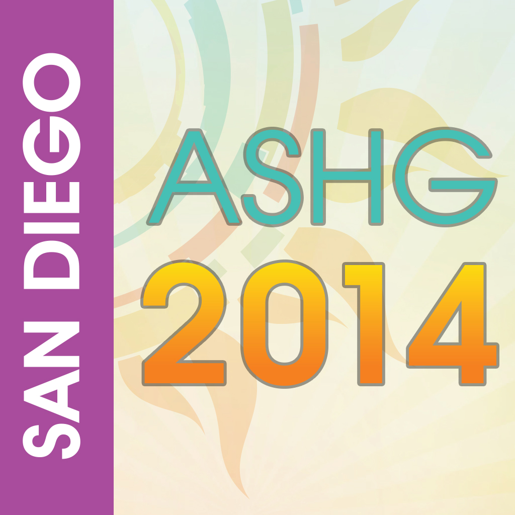 Event app for ASHG 2014 conference