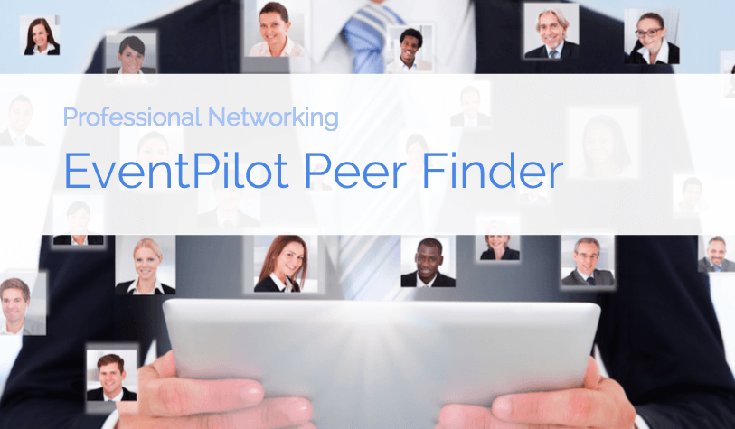 event app networking with peer finder