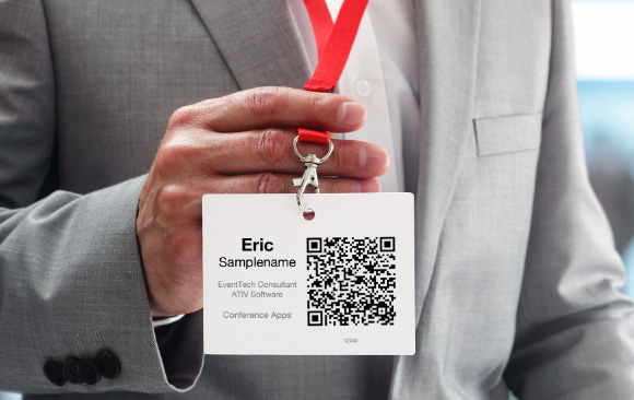 QR Badge Scanner for Lead Retrieval